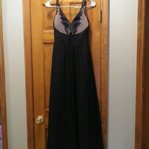Alfred Angelo Black Gown size 2